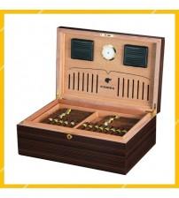 Tủ Đựng Hộp Giữ Ẩm Cigar Cohiba RA-940 Bảo Quản 120 Điếu Chất Liệu Gỗ Tuyết Tùng Cao Cấp