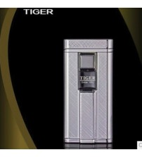 Bật lửa cảm ứng Tiger trắng ô sọc