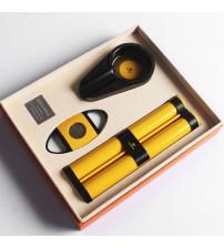Set gạt tàn, ống đựng, dao cắt Xì gà Cohiba cao cấp HB-T306