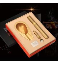 Set gạt tàn, ống đựng, đục Xì gà Lubinski chính hãng LB-T24