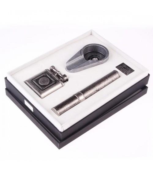 Set gạt tàn, bật lửa, ống đựng Xì gà Guevara RAG-6031