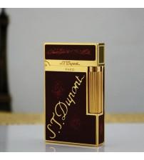 Bật lửa Dupont đỏ tuyến khắc S.T.Dupont
