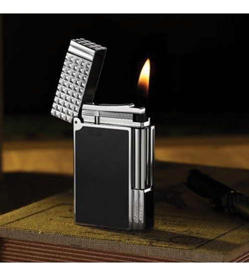 Bật lửa Dupont đen trắng ô