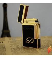 Bật lửa Dupont đen vàng D