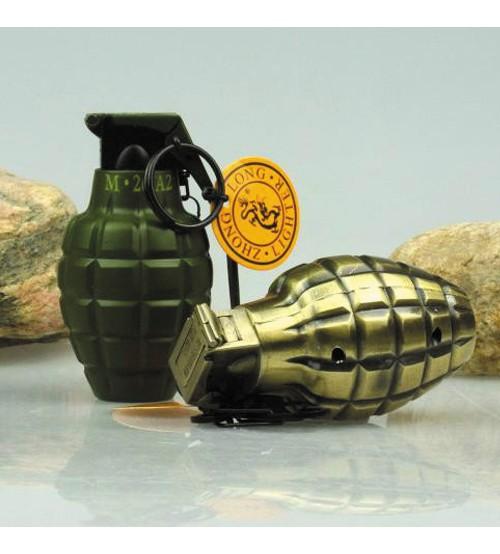 Lựu đạn đồng móc chìa khóa loại to