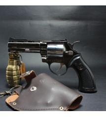 Bật lửa hình súng rulo nòng dài có bao da