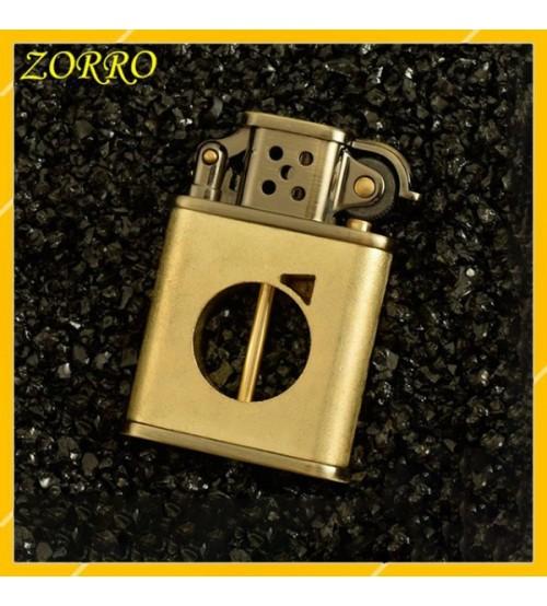 Hộp Quẹt Bật Lửa Xăng Đá Zorro Z506-598B, Kiểu Dáng Độc Đáo Mới Lạ