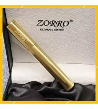 Hộp Quẹt Bật Lửa Xăng Đá Bằng Đồng Zorro Z547, Kiểu Dáng Nhỏ Gọn Sang Trọng