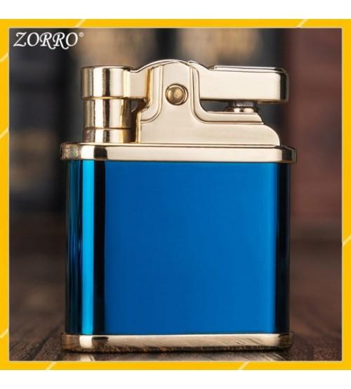 Hộp Quẹt Bật Lửa Xăng Đá Dập Cối Zorro Z582, Kiểu Dáng Đôc Đáo Mới Lạ