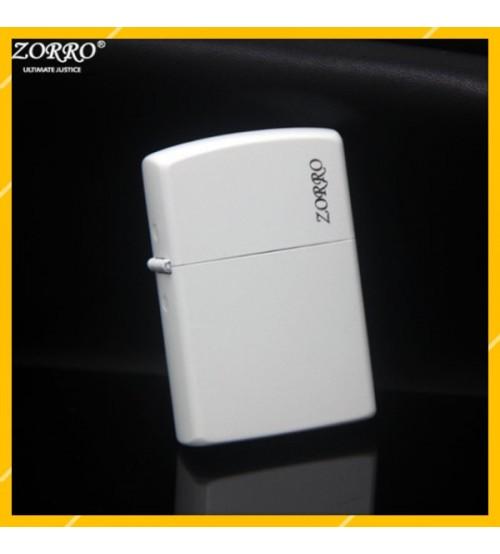 Hột Qụet Bật Lửa Xăng Đá Zorro Z6007B Thiết Kế Đẹp Độc Lạ - Dùng Xăng Bấc Đá Cao Cấp