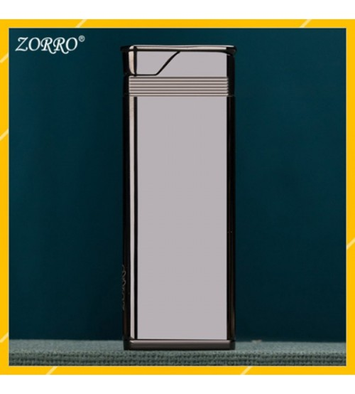 Hột Qụet Bật Lửa Gas Đá Siêu Mỏng Zorro Z641 Màu - Dùng Gas Đá Cao Cấp ( giao màu ngẫu nhiên )