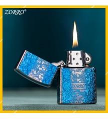Hột Qụet Bật Lửa Xăng Đá Zorro Z92021 Họa Tiết Hoa Văn Đẹp Độc Lạ Màu Sắc Nổi Bật
