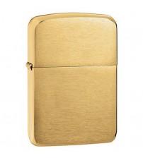 Bật lửa Zippo màu vàng Brass Vintage