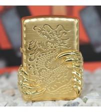 Bật lửa Zippo móng rồng vàng