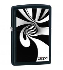 Zippo Spiral Black and White