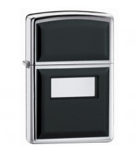 Zippo Ultralite Black Emblem Lighter