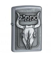 Bật lửa Zippo đầu trâu đắp nổi