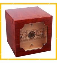 Tủ Đựng Hộp Giữ Ẩm Xì Gà Lubinski RA-932 Bảo Quản 120 Điếu Chất Liệu Gỗ Tuyết Tùng