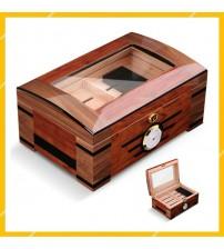Hộp Đựng Tủ Bảo Quản Cigar SGH-0069 Giữ Âm Cigar Gỗ Tuyết Tùng Cao Cấp
