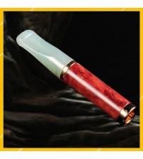 Tẩu Hút Thuốc Lá Đá Ngọc Bích Cán Gỗ Zobo ZB-239 Thiết Kế Nhỏ Gọn Sang Trọng Cao Cấp
