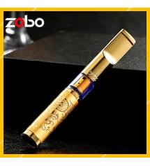 Tẩu Lọc Thuốc Lá Cầm Tay Họa Tiết Hoa Văn Rồng Cao Cấp Zobo ZB-337 - Quà tặng cho sức khỏe nam giới ( giao họa tiết ngẫu nhiên )