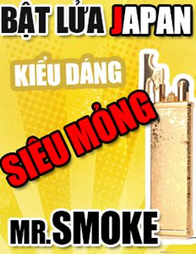 Bật lửa Mr Smoke