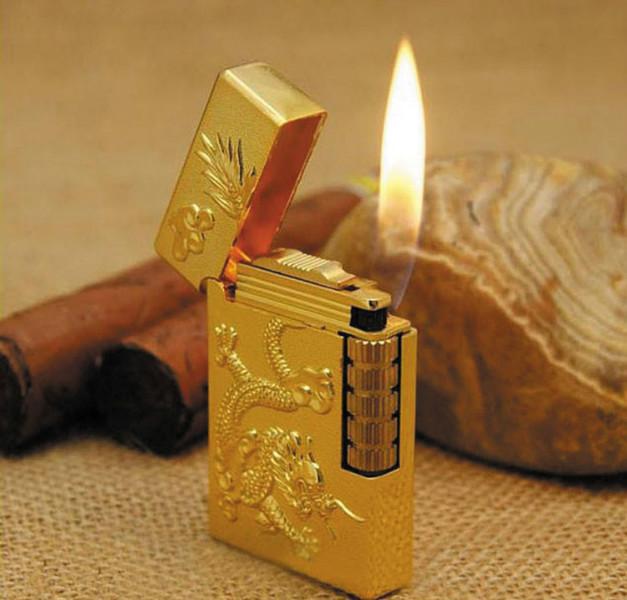 Bật lửa khắc rồng nổi