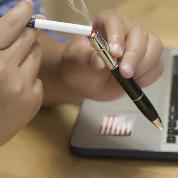 Bật lửa sạc điện hình chiếc bút jouge JJ803