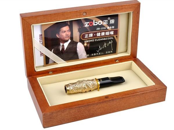 Tẩu Lọc Thuốc Chạm Rồng Nổi Zobo ZB-219